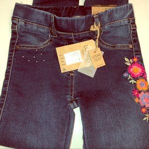 Girls brand new leggings Jeggins Jean look